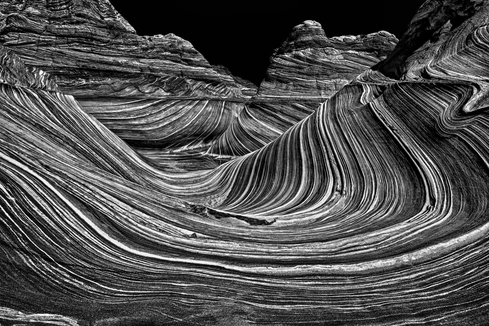 The Wave - Vermilion Cliffs Wilderness, Arizona, 2012 