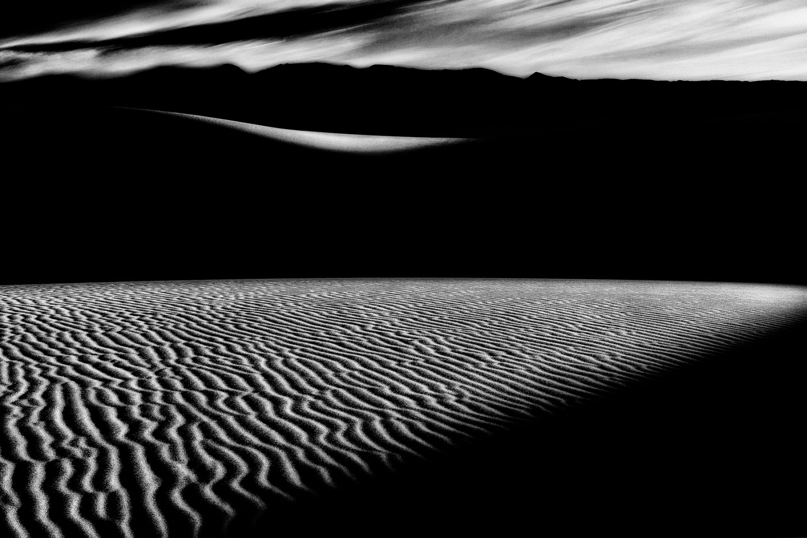 Somewhere On The Planet Earth #1 - Mesquite Dunes, California, 2012