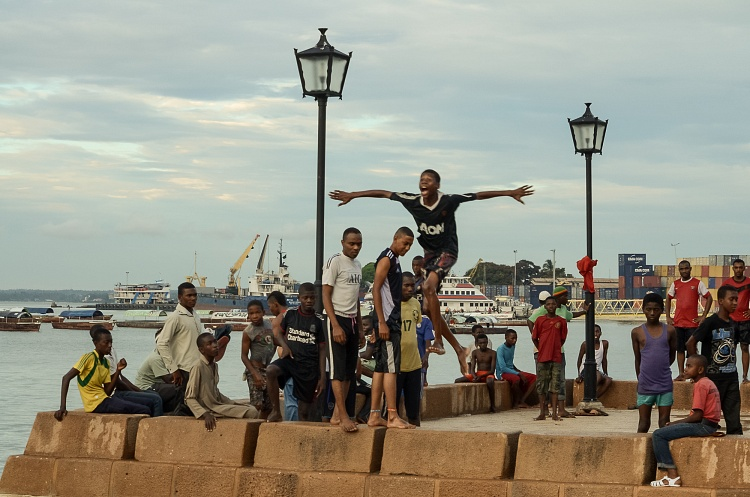 tanzania, beachfront